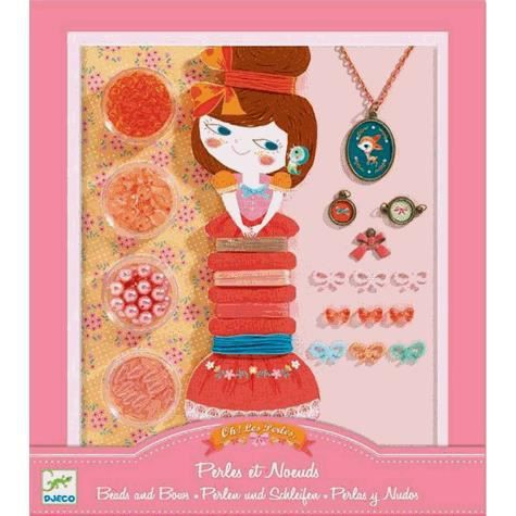 Kit de création de bijoux - Perles et noeuds