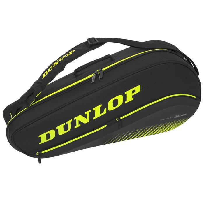 Sac Dunlop SX Performance Thermo 3R - Couleur:Noir Type Thermobag:3 raquettes