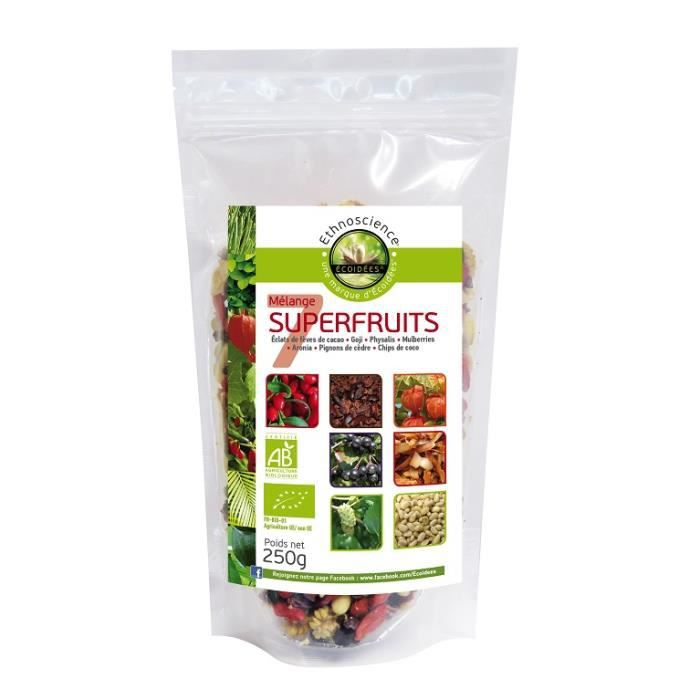 Mélange de 7 Super Fruits Bio