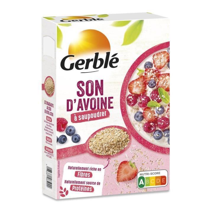 GERBLE Son d'avoine, riche en fibres et magnésium - 400 g