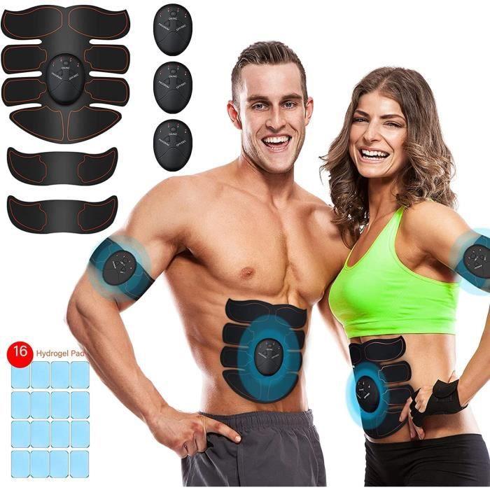 Electrostimulateur Musculaire Ceinture Abdominale Electrostimulation EMS Stimulateur Appareil Electrostimulation Musculaire