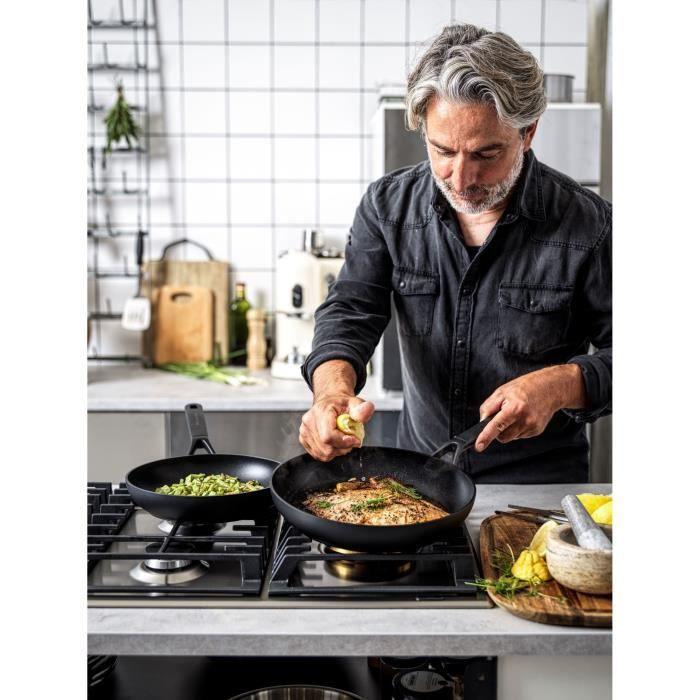 KitchenAid Classic Poêle à frire 28cm - tous feux dont induction