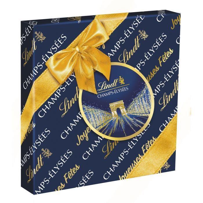 LINDT Boîte de chocolat Cadeau Champs-Élysées Assorti - 237 g
