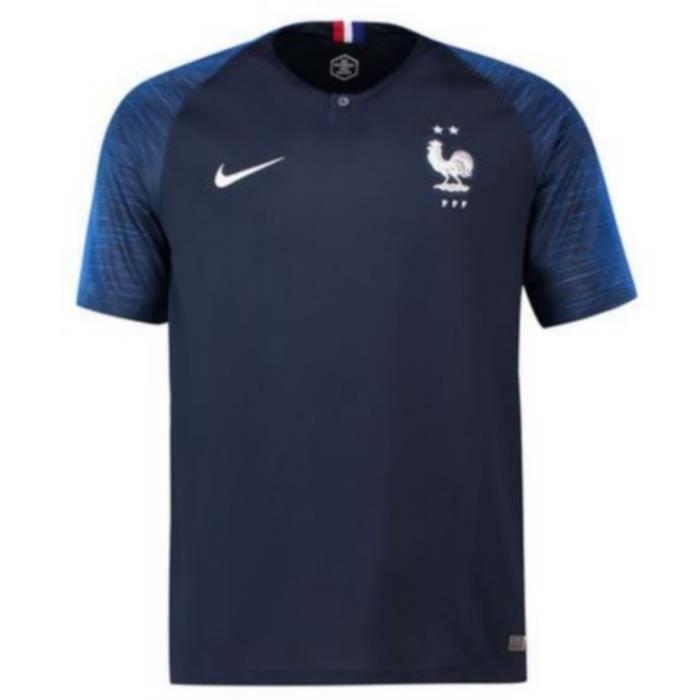 Nouveau Maillot Homme Nike France Domicile Champions du Monde 2 Etoiles