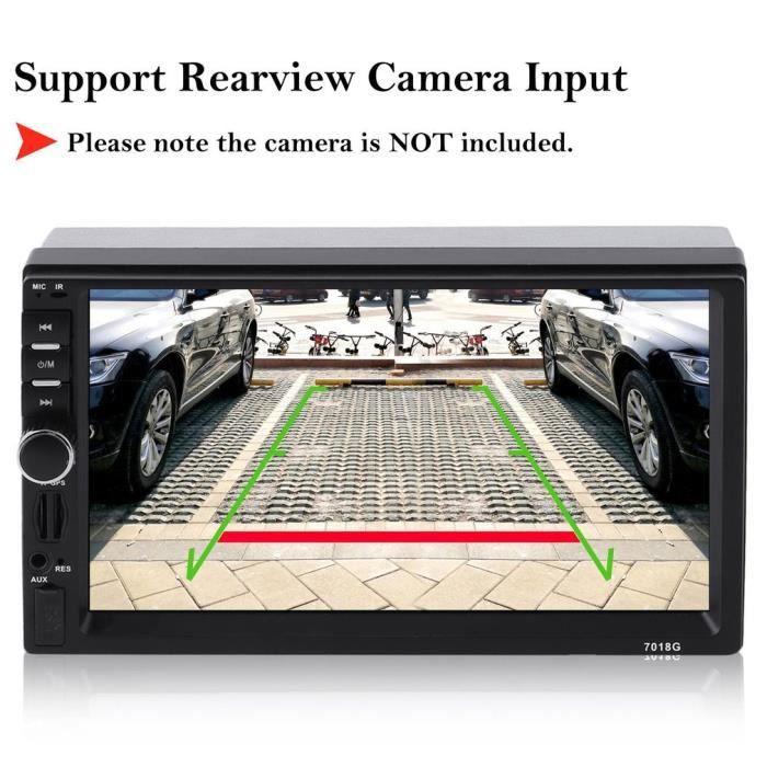 7 Autoradio Bluetooth GPS Navigation voiture stéréo lecteur MP5