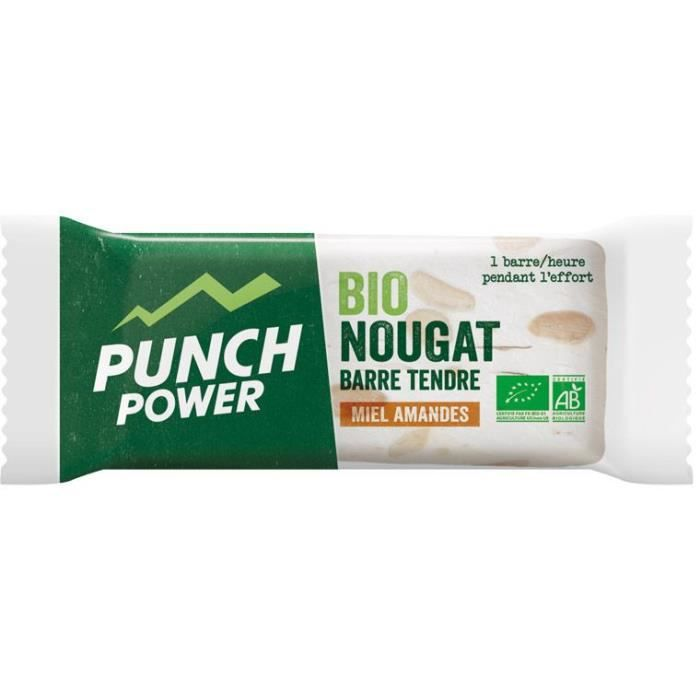 PUNCH POWER Bionougat - Barres 30 g