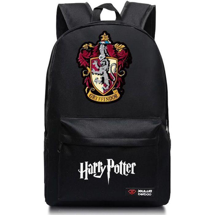MOBIGARLAN Sac à Dos - Sac d'École cartable étudiant Harry Potter imprimé pour enfant adolescent modèle 11