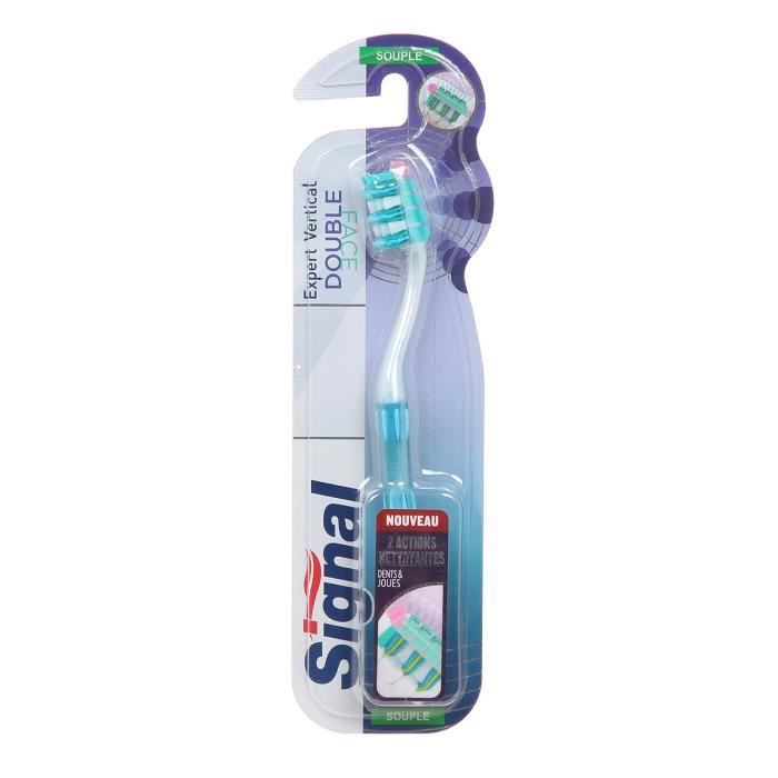 SIGNAL Brosse à dents Double Face Souple