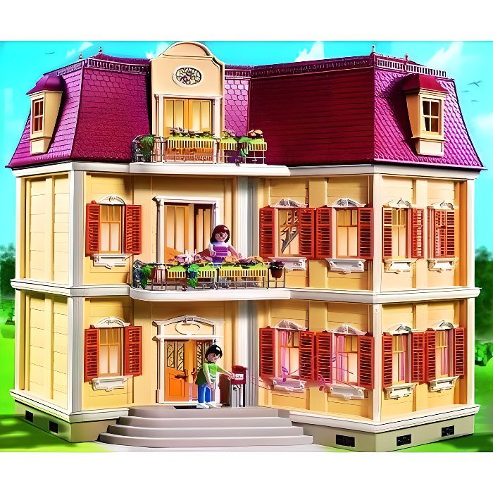 playmobil 5302 maison de ville 4008789053022 achat. Black Bedroom Furniture Sets. Home Design Ideas