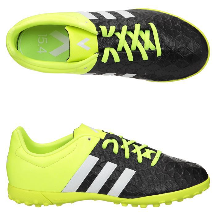 ADIDAS Chaussures de Football Ace 15.4 Turf Terrain Stabilisé Junior
