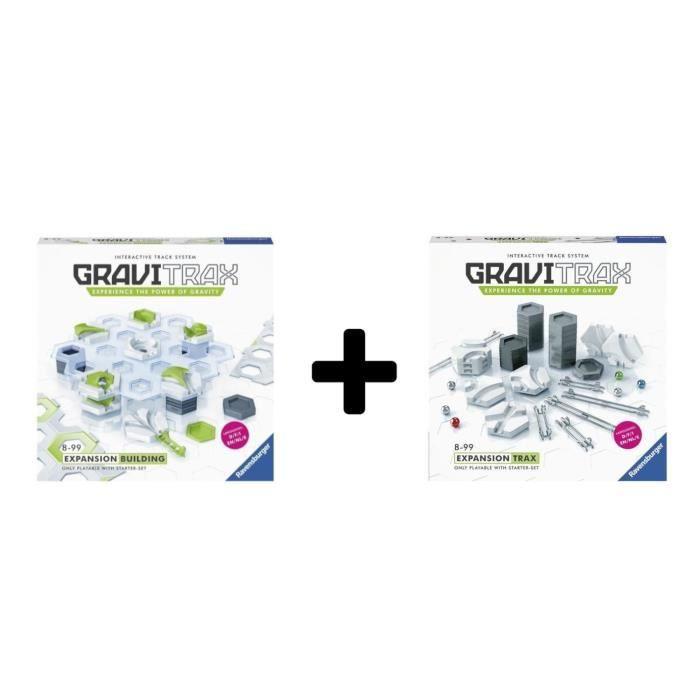 ASSEMBLAGE CONSTRUCTION GRAVITRAX - Lot de 2 extensions CONSTRUCTION + RAI