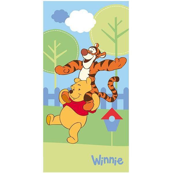 Winnie Ourson Serviette de bain drap de plage 140 x 70 cm