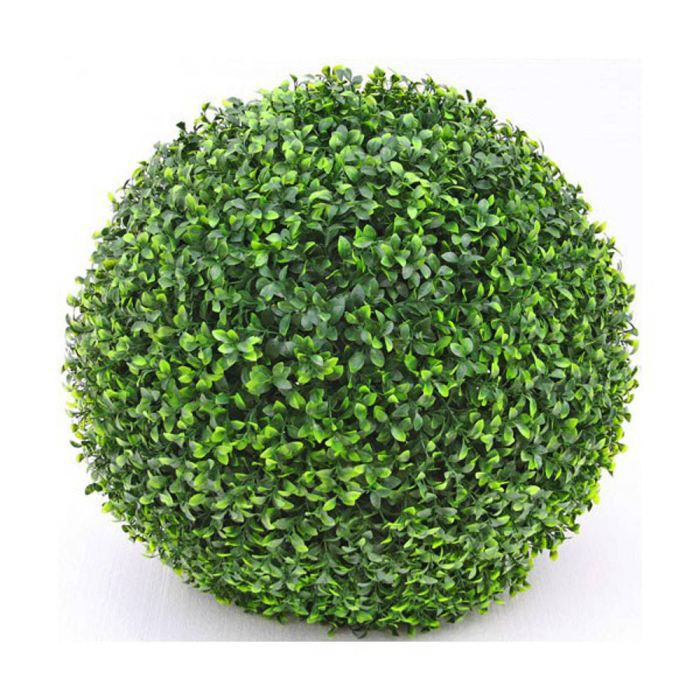 boule de buis verte en plastique 22cm achat vente arbre buisson boule de buis verte en. Black Bedroom Furniture Sets. Home Design Ideas