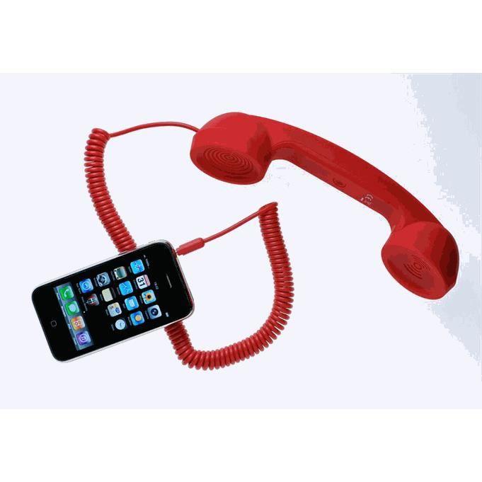 PIÈCE TÉLÉPHONE Combine Moshi Moshi rouge tout telephone mobile J…