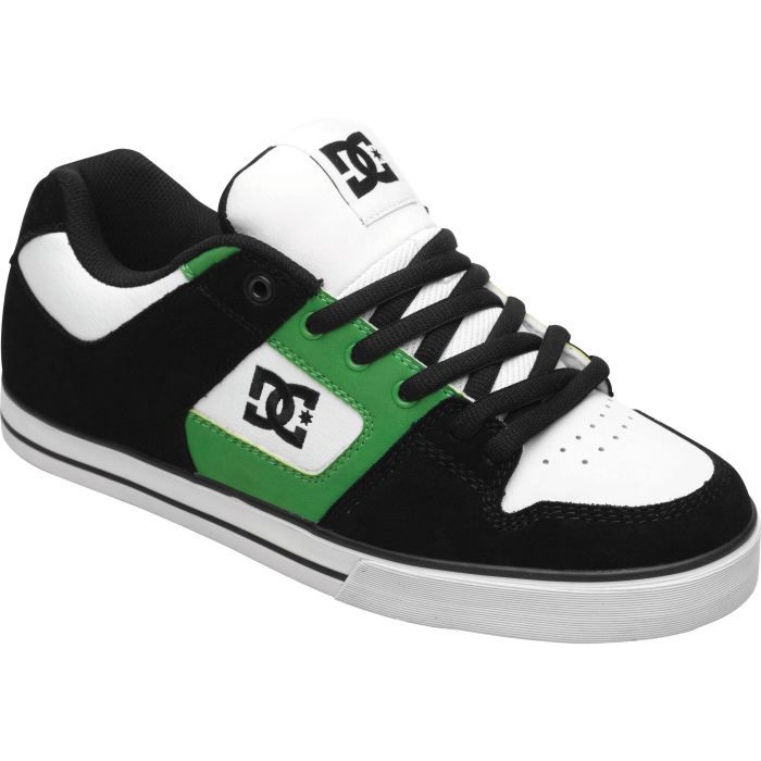skate shoes chaussures dc shoe homme noir blanc achat. Black Bedroom Furniture Sets. Home Design Ideas