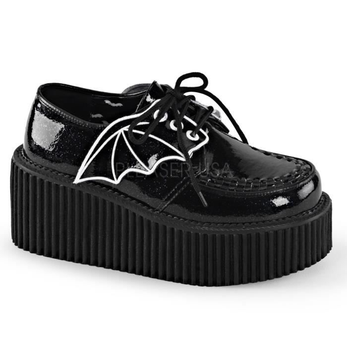 Chaussures creepers bat wings