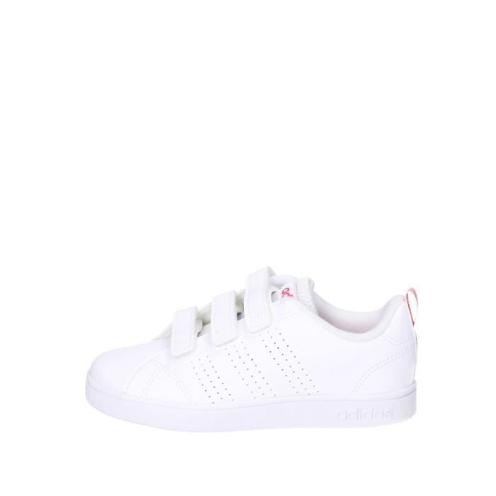 Adidas Sneakers Fille Blanc/rose, 35 Blanc/rose - Cdiscount Chaussures