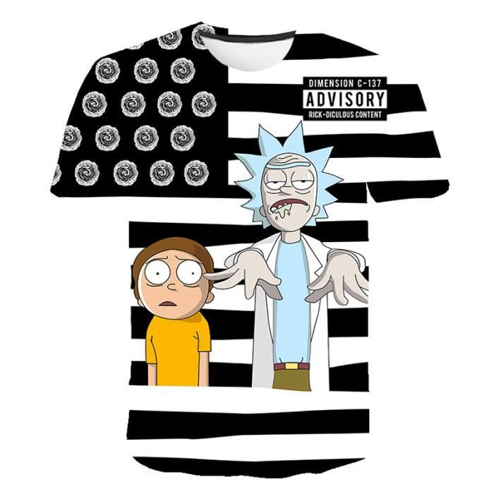 NEUF Rick /& Morty de CID grande taille Unisexe Mr Meeseeks-Regardez Me T-Shirt