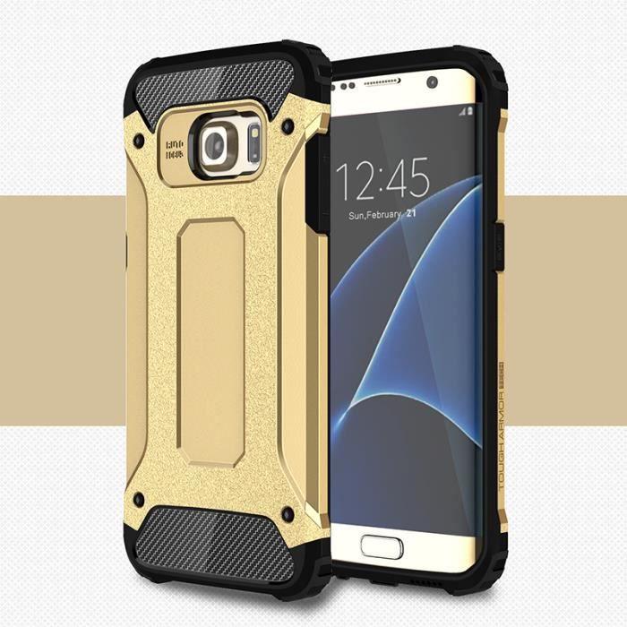 Coque Samsung Galaxy S7 Edge, Anti-choc Bumber Arm