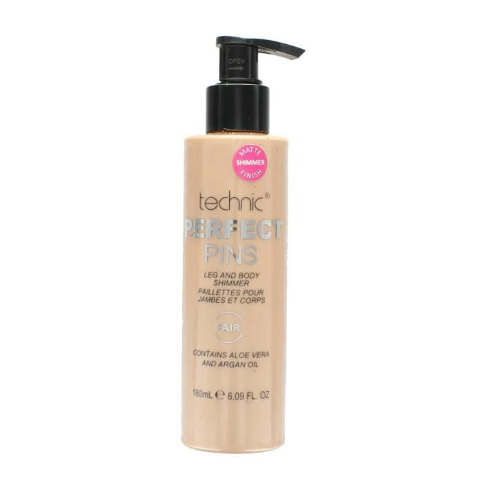 Technic Perfect Pins Legs And Body Shimmer Matte Finish - Fair