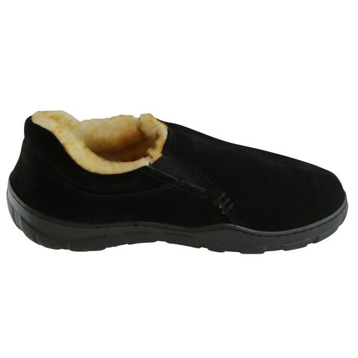 Conway Suede Véritable Lined Slipper R717H Taille-46