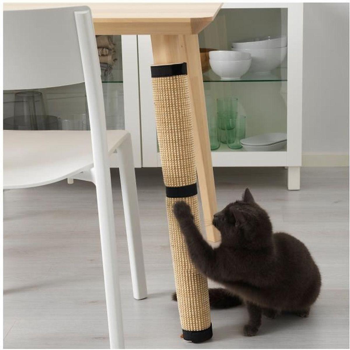 Mon Chat Dort Sur Mes Pieds griffoir pour chat transformez facilement et rapidement pied