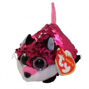 PELUCHE Peluche Teeny Ty flippables sequins Jewel le renar