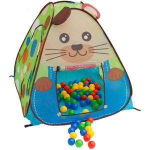 PISCINE À BALLES Piscine à balles « souris » tente de jeu enfant po
