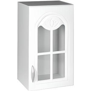 ÉLÉMENTS HAUT Meuble cuisine haut 40 cm 1 porte vitrée DINA