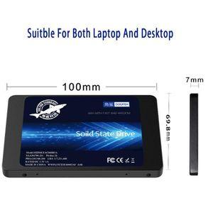 DISQUE DUR SSD SSD 128 Go SATAIII 2,5 pouces 6 Go / s interne Dis