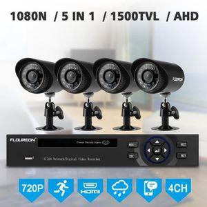 CAMÉRA DE SURVEILLANCE Kit de Sécurité pour Caméra 1 X 4Ch 1080N Ahd Dvr