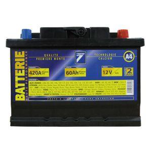 BATTERIE VÉHICULE Batterie 12V 60AH 420A (EN) : Auto7