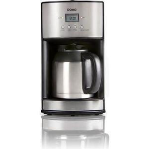 CAFETIÈRE DOMO DO474K Cafetière filtre avec verseuse isother