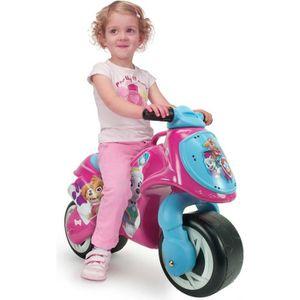 PORTEUR - POUSSEUR PAT PATROUILLE Porteur Moto Enfant Rose Fille Ever