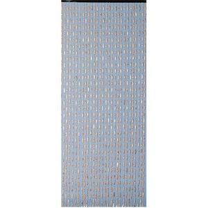 RIDEAU DE PORTE Rideau de porte en perles de bois forme olive 90x2