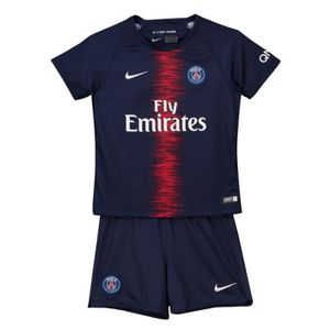 TENUE DE FOOTBALL Maillot PSG Paris Saint Germain 18/19 Enfants Mail