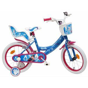 VÉLO ENFANT Vélo 16'' REINE DES NEIGES (ICE LOOK) équipé de 2