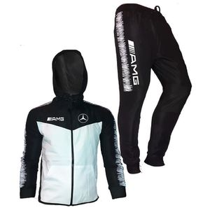 Ensemble de vêtements ensemble survetement amg jogging motorsport auto b