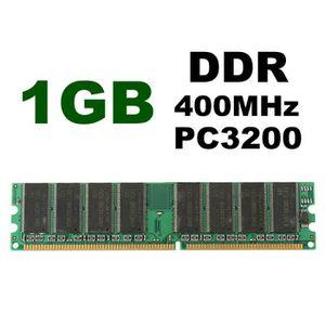 MÉMOIRE RAM 2 X 1 Go 2 Go Mémoire RAM DDR 400 PC3200 Non-ECC D