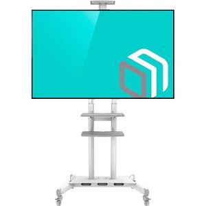FIXATION - SUPPORT TV ONKRON TS1881 Support TV sur pied à roulettes pour