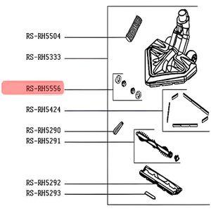 PIÈCE ENTRETIEN SOL  RS-RH5556. ROULETTES X 2 BROSSE