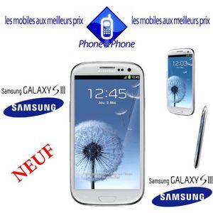 SMARTPHONE SAMSUNG GALAXY S3 BLANC  I9300 DEBLOQUE