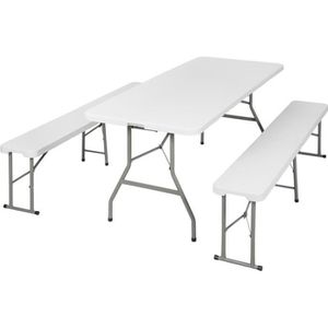 Table pliante avec banc