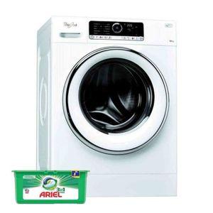 LAVE-LINGE WHIRLPOOL Lave Linge Frontal 10kg A+++ 1400trs/min
