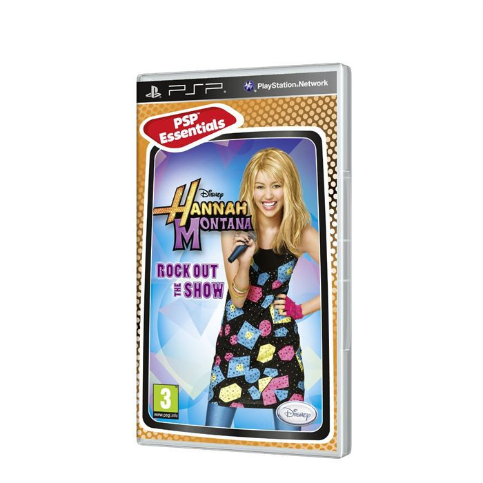 JEU PSP HANNAH MONTANA ROCK OUT THE SHOW ESSENTIALS / PSP