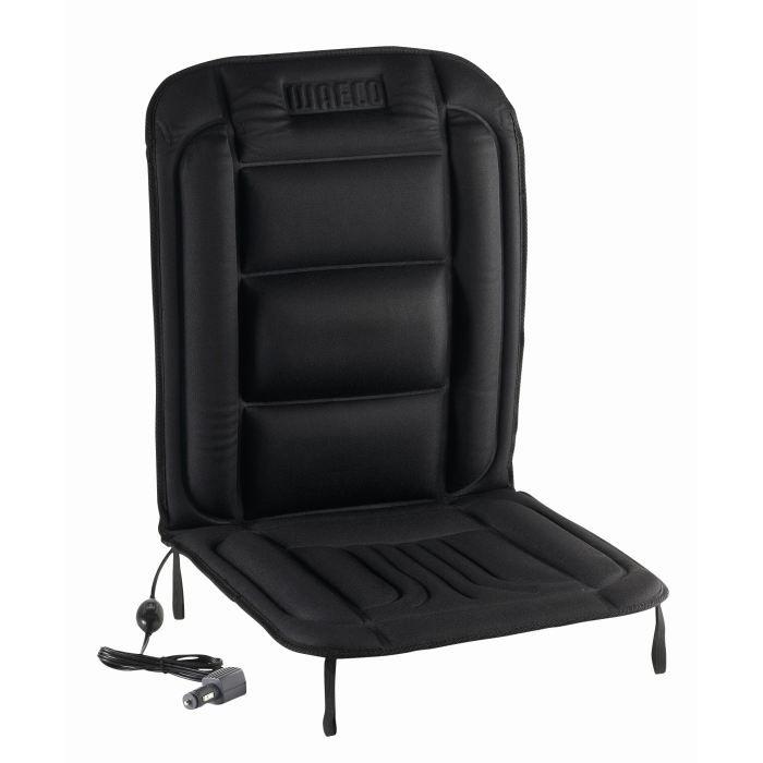 WAECO Couvre siège chauffant 12V Noir