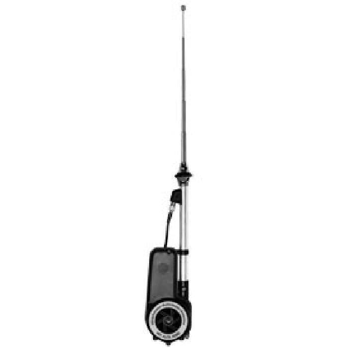 Antenne Aile electrique Automatique Chrome - 9249 - ADNAuto