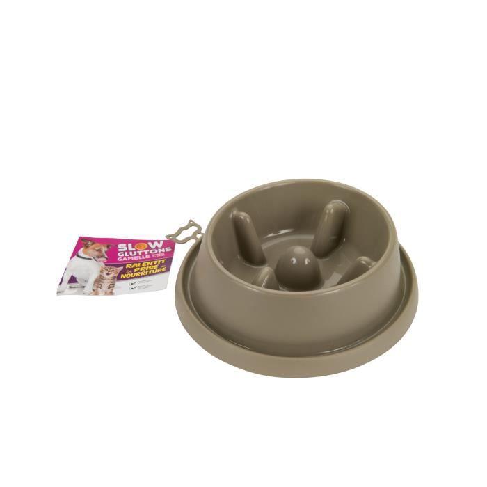 AIME Gamelle d'alimentation Lente - Anti-glutons - 20 cm / 950 ml - Pour chien