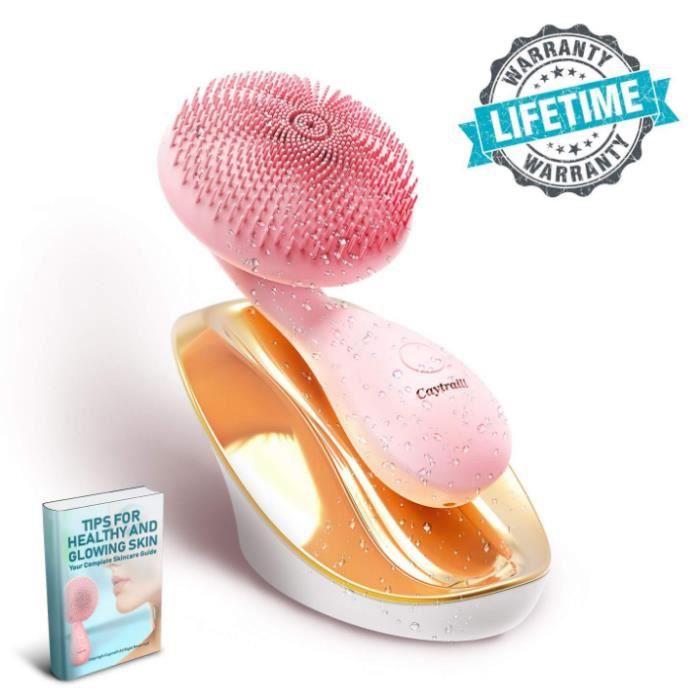 LDY Nettoyant facial électrique pour chargeur de silicone à ultrasons Clean Massage