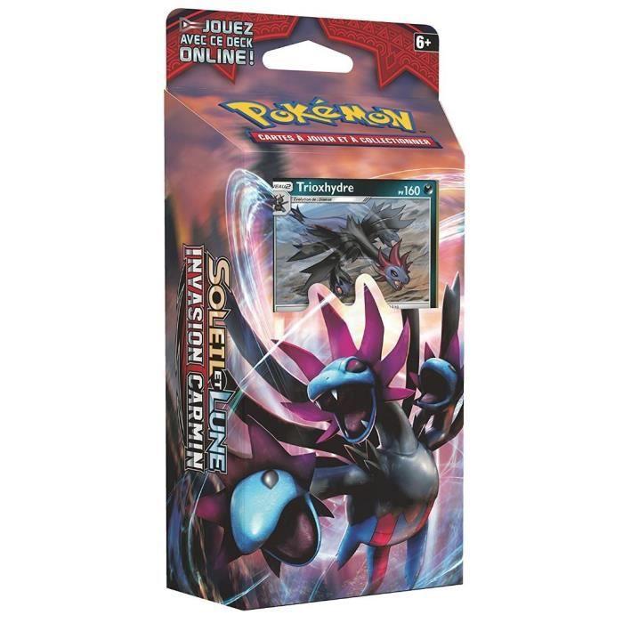 Pokémon : Deck FRANCAIS de 60 Cartes Trioxhydre -Croc Destructeur- - SL4